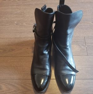 Alexander Wang Side Buckle closure Leather Boots
